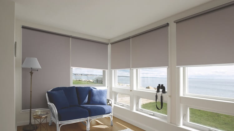 Рулонные шторы лучшее решение.